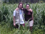 Me an Micheline in the suggar fields