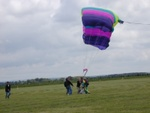 :A couple of us 'catching' a tandem jump
