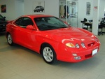 My new car. A 2001 Hyundai Tiburon