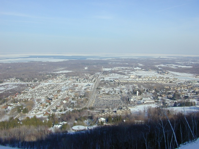 The View from the top of Blue Mountain